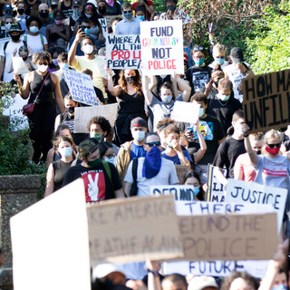 D.C. Protests' first march on June 6, 2020 was quite large, drawing hundreds of participants to to Malcolm X Park.