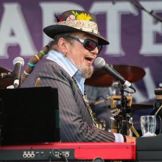 Dr. John, French Quarter Festival 2014