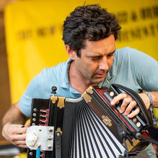 Andre Michout, Cajun Zydeco Festival 2018