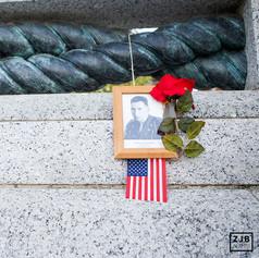 Veteran's Day at the Vietnam Memorial, Washington, D.C. 2019