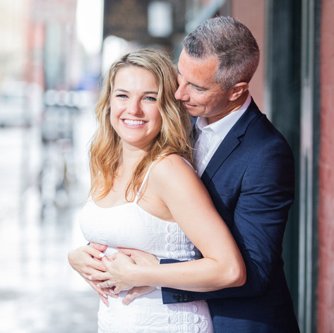 Lauren and Tommy Engagement shoot, New Orleans, 2019