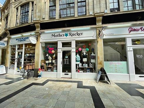 MotherRucker Shop Exterior