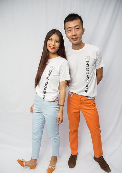 Hu TaoJiazi's Pale Blue Classic Cut Jeans