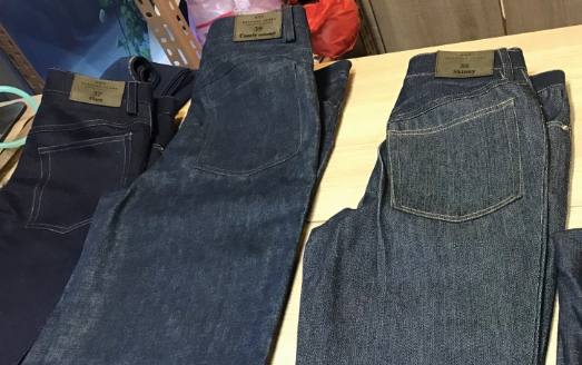 HST Bespoke Jeans- Prewashed or raw denim