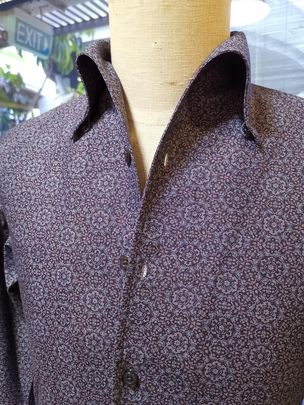 bespoke cotton and silk shirts