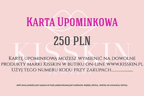 Karta Podarunkowa Kisskin