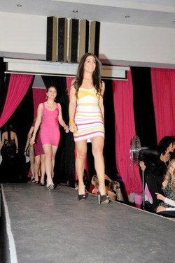 Pink Aliceband Campaign Fashion Show