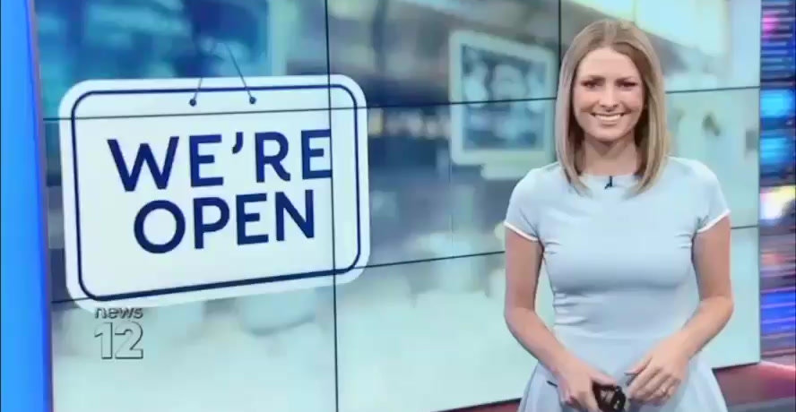 "As seen on NEWS 12 ""We're Open"""