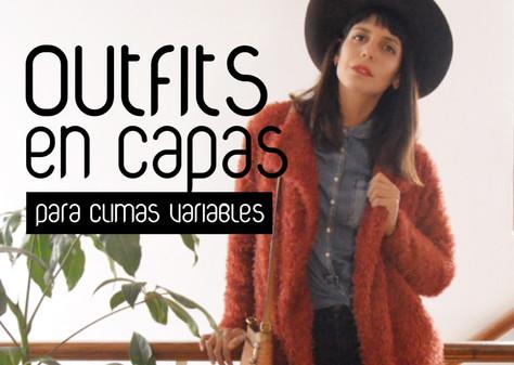 Outfits en capas para climas variables (video)
