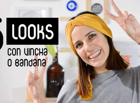 5 Looks con Vincha o Bandana