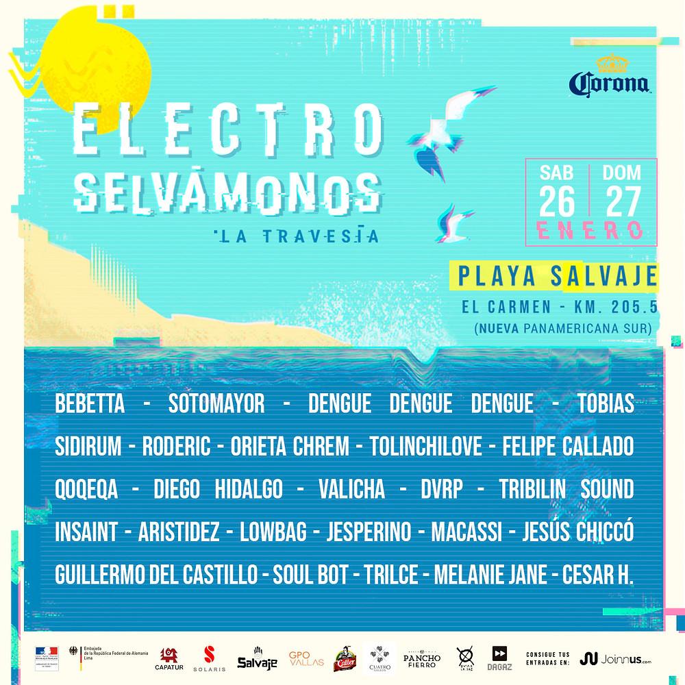 line-up electro selvamonos