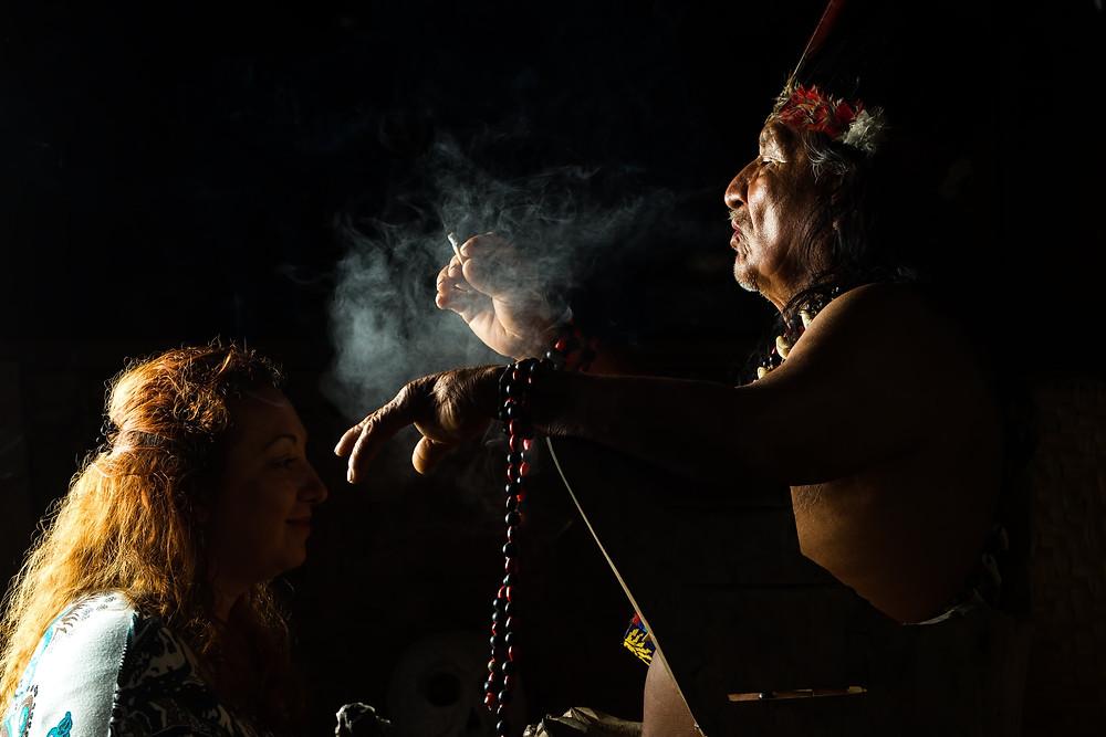 ritual de ayahuasca planta sagrada
