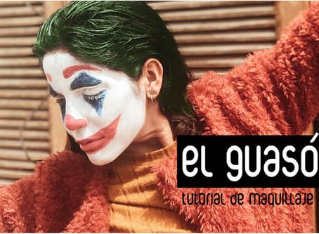El Guasón: tutorial de maquillaje halloween 2019