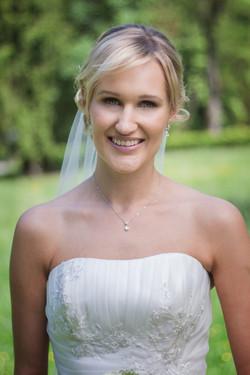 Braut Bride Outdoor Fotoshooting