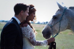 Brautpaar Hochzeit Fotoshooting