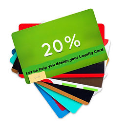 Loyalty cards  US Offset printer newsletters flyers  commercial print