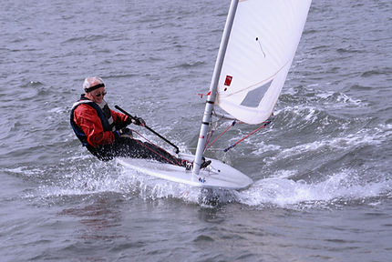 Sailing a Laser