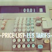CYC-prijslijst