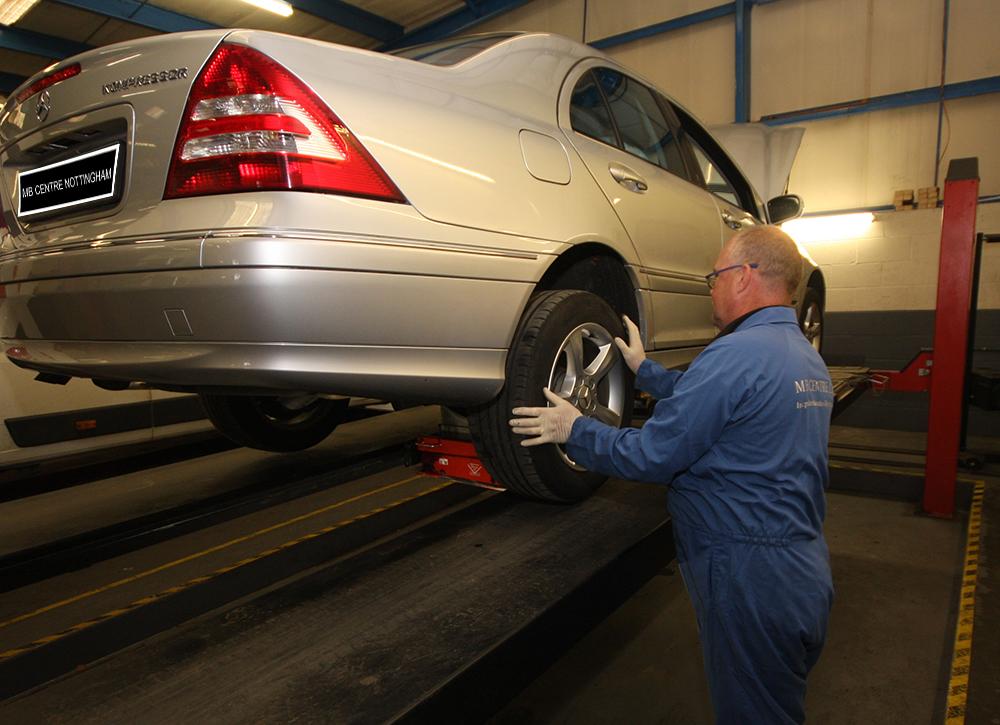 Checking Wheel Bearings
