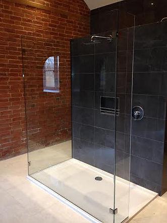 Bespoke Frameless Glass Shower Screen Installations Swindon