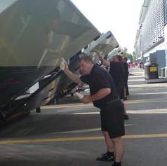 F1 Truck Maintenance