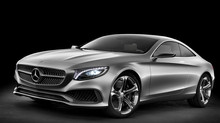 Mercedes S-class coupé revealed