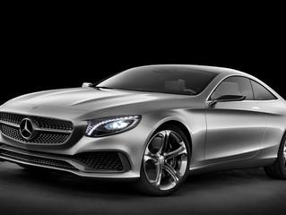Mercedes S-class coupé revealed