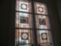 Stain Glass Window Repaired Solihull