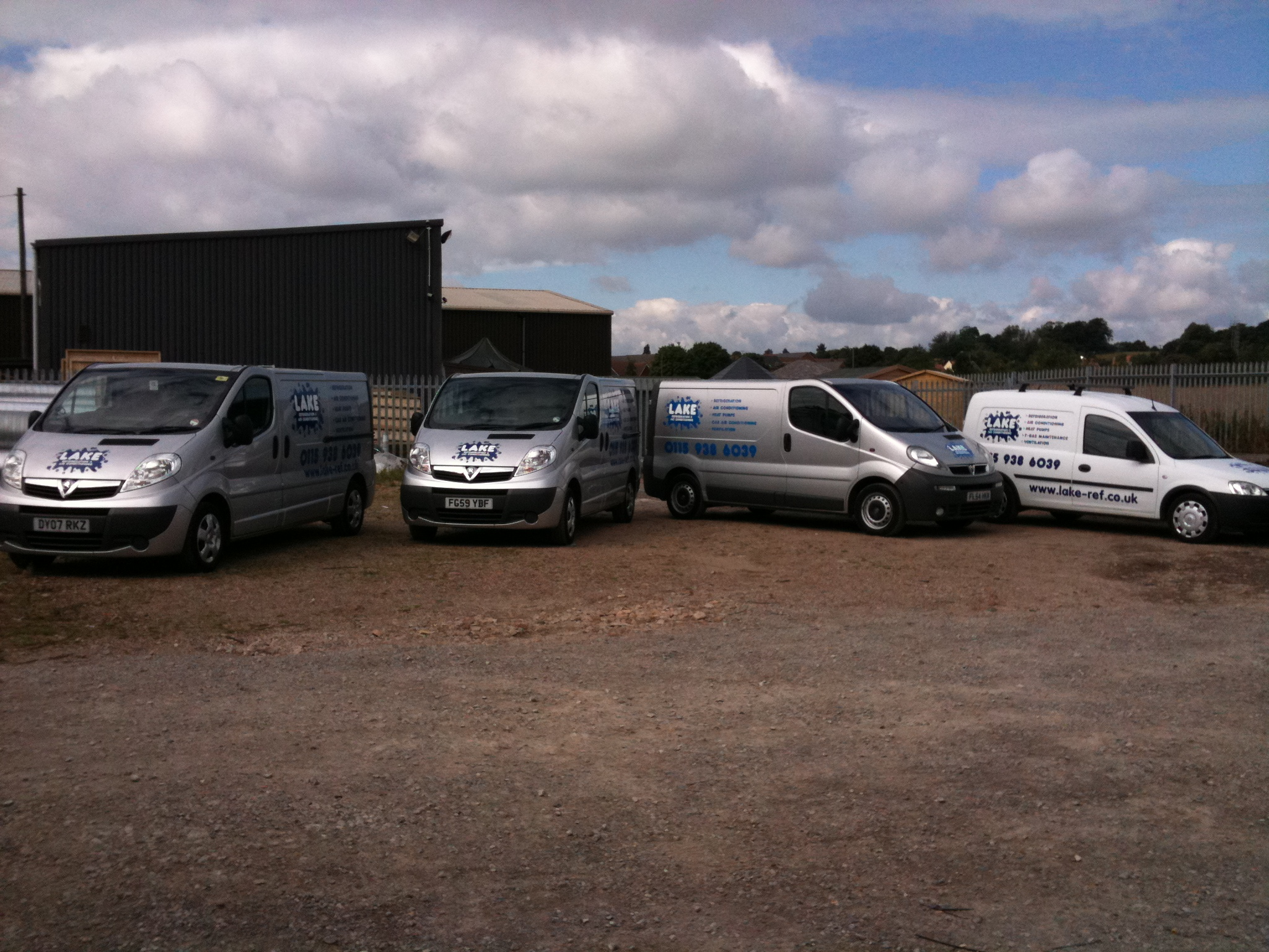 Lake Refrigeration Team Nottingham