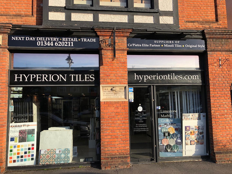 Hyperion Tiles Ascot Shop