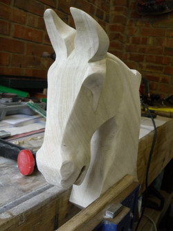 Finished Horse Head