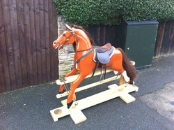 Another Finished Rocking HorsE