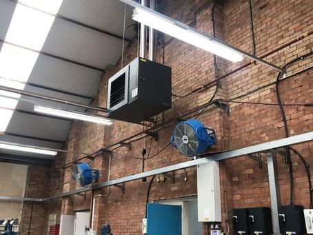 Warm Air Heater at Sassen Engineering Limited