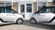 Our MB Centre branded Smart cars!