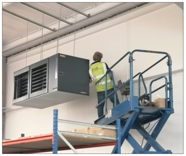 Warm Air Heating Installation in Solihull, Birmingham