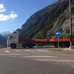 Carbon Fibre Blade to Italy