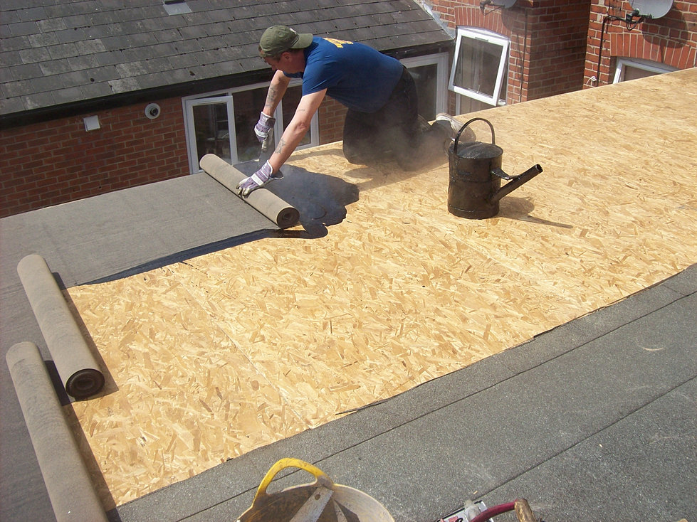 Nottingham Roofing Services Roofing Nottingham Flat