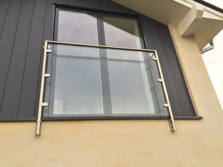 Glass Juliet Balcony Installed in Oxford