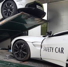 Aston Martin Car Delivery