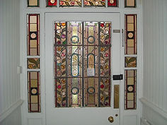 Repaired Stained Glass Door In Solihull