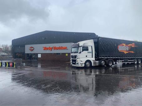 Harley Davidson Delivery