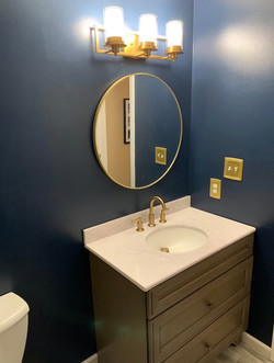 New Vanity and Paint