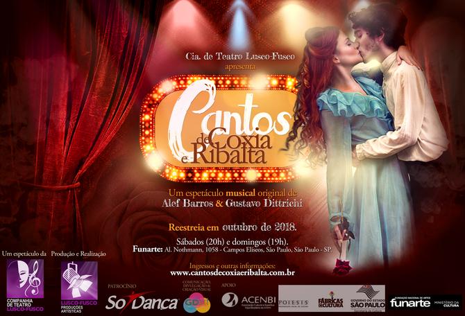 Musical está de volta a São Paulo a partir de 6 de outubro de 2018