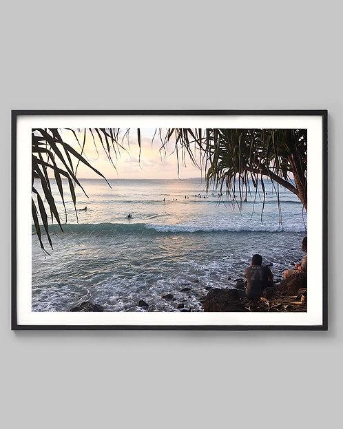 Sunset Surfs. (Noosa Heads, Australia)