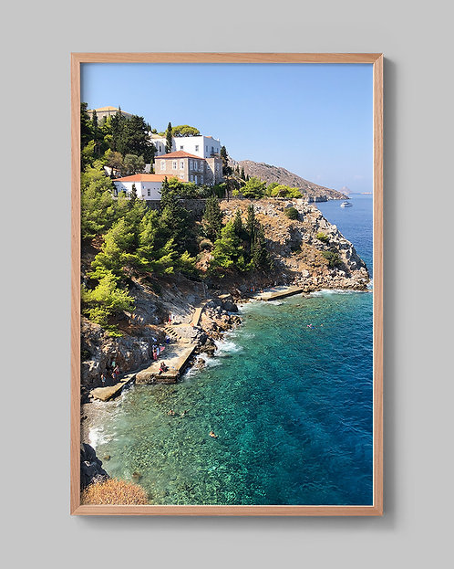 Magical Hydra. (Greek Islands)