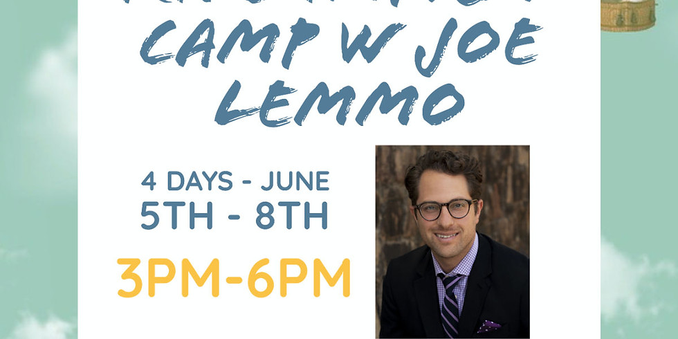 RESCHEDULED - Kids Improv Camp with Joe Lemmo - 4 days - NEW DATES TO BE DETERMINED