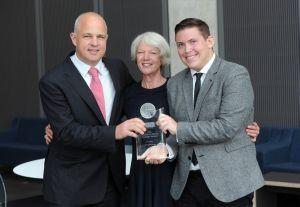 Jeremy Dickey, winner of the 2014 Douglas Smith Student Award