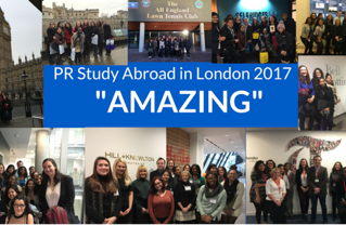 CIPR? It's PRSA in London (International Public Relations Study Abroad Program, Winter 2017 )