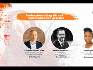 ACW 2021: Professionalising PR and Communications