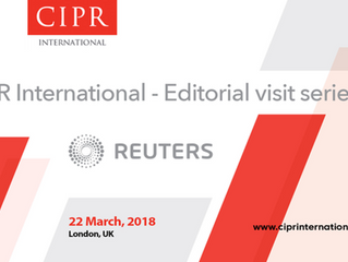 CIPR International to host editorial visit at Reuters